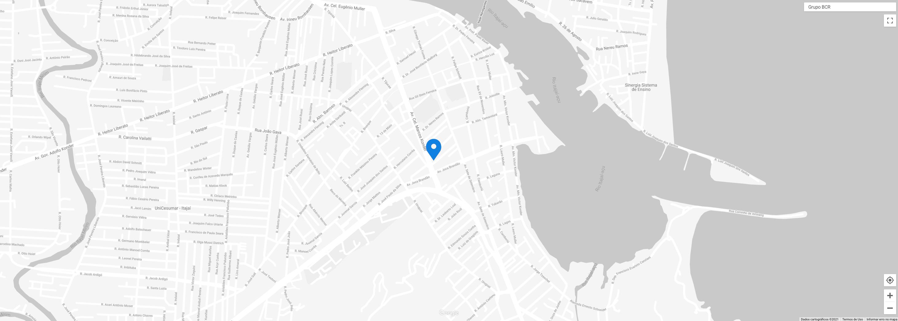Mapa de endereço